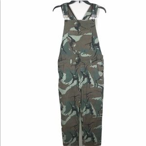 Urban Outfitters Camo Overalls
